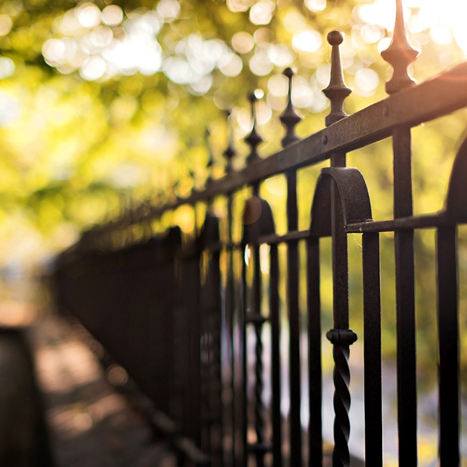 Wrought Iron Galiley